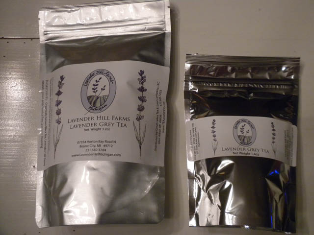 """Lavender Grey"" Tea - Large 3.2 oz"
